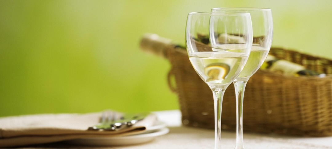 Белое вино под шашлык