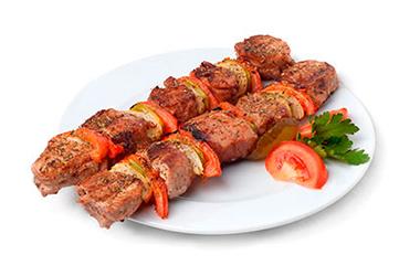 шашлык из свинины (вырезка)